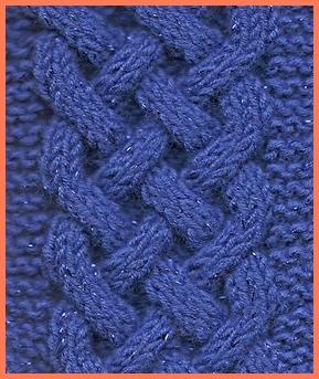 celtic plait cable knit