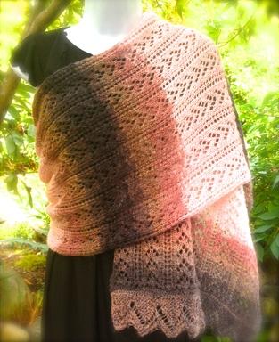 lace scarf / shawl
