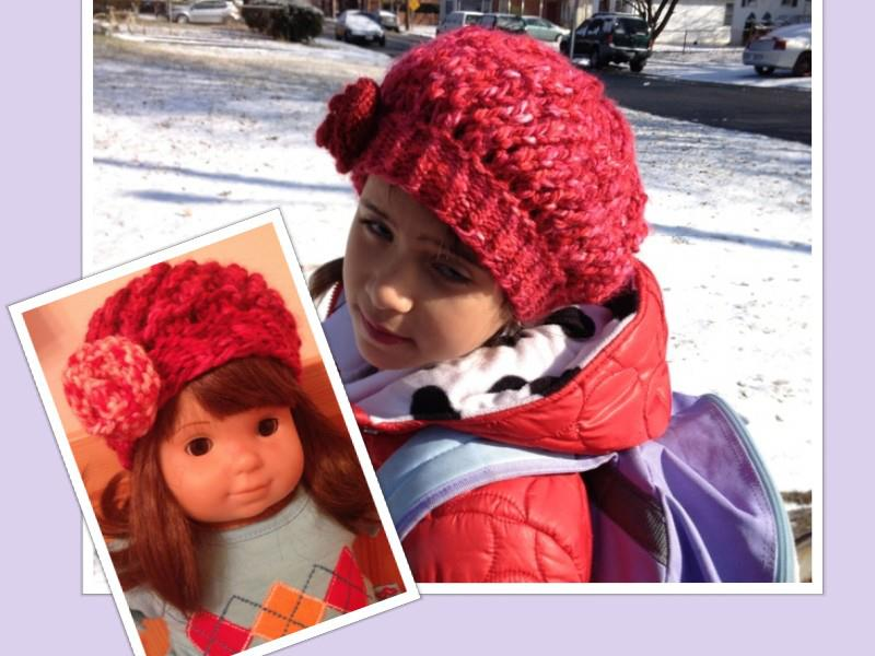 strawberry twirl hat