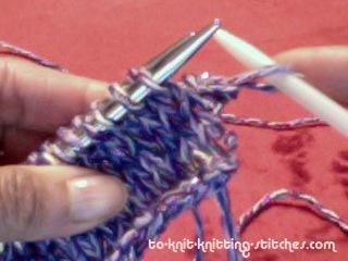 3 needle bind off slip off needle
