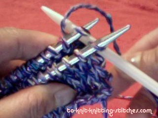 3 needle bind off wrap yarn
