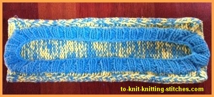 knitted mop cover