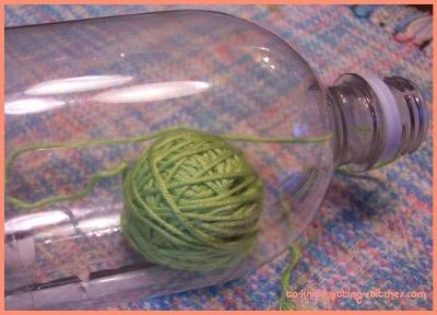 Homemade Yarn Canister