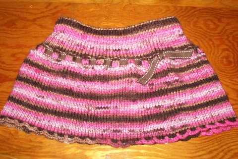 Knitting Skirts Free Patterns : My knitting projects gallery hopefully will get you inspired