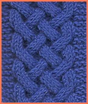 Celtic Plait A Beautiful Cable Knit Pattern