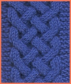 Celtic  plait pattern