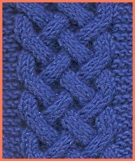 Celtic  plait pattern