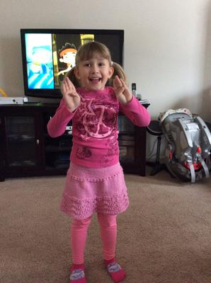 My granddaughter Evelyn