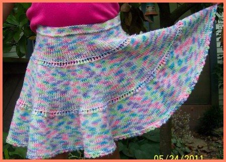 Knitting Pattern Baby Skirt : My Knitting Projects Gallery - Hopefully Will Get You Inspired!
