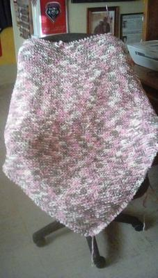 unfinished shawl