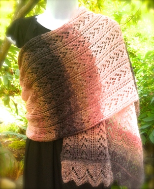 Knitting Pattern Jargon : More Than A Beautiful Lace Scarf - Explore Your Ways Of Beauty