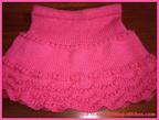 scallop edge skirt pattern