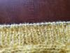 close up picture of ribbing