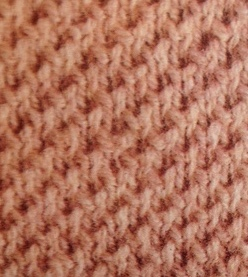 Twisted Moss Stitch