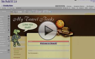 sbi build a web site video domo