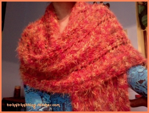 big chevron scarf