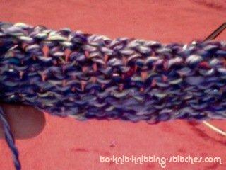 bind off purl row