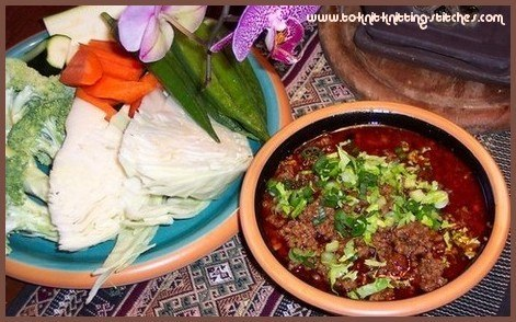 thai beef chili (Nam Prik)