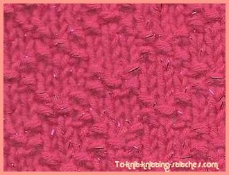 knitting stitch pattern lattice stitch
