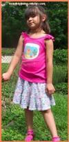 Knitted Summer Skirt