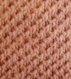 Twisted Moss Stitch