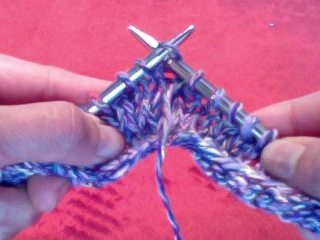 yarn over insert right needle